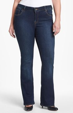 Lucky Brand 'Ginger' Bootcut Jeans (Plus Size) available at #Nordstrom