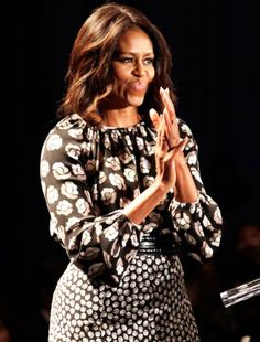 Michelle Obama Wore Two DVF Outfits