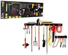 WallPeg Garden Tool Holder & Pegboard Tool Storage AM 242+044B-3 WallPeg http://www.amazon.com/dp/B00H8RJ87O/ref=cm_sw_r_pi_dp_euwnub07S7REW