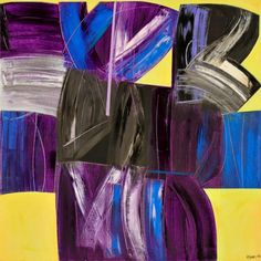 João Vieira Untitled 149)09 2007 Painting x Canvas 100 cm x 100 cm  #JoãoVieira #Artist #Art #Oil #Painting #Color #Portugal #Gallery #SaoMamede #Artwork #Lisbon