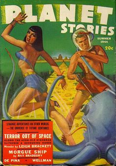 George Gross / Planet Stories, Summer 1944