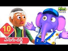 Kids Video Songs, Kids Videos, Moral Stories For Kids, Children Stories, Rhymes For Kids, Bedtime Stories, Telugu, Smurfs, Kindergarten