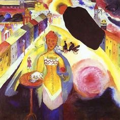 Lady in Moscow Wassily Kandinsky