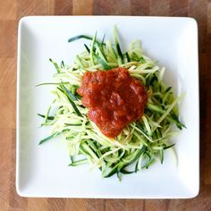 I've heard kids will eat them! So easy- julienne the zucchini, sprinkle with a little salt, let sit for 20 minutes, serve with pasta sauce.