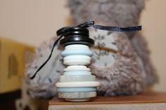 Snowman button decoation