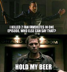 Lucifer is definitely more badass than Negan