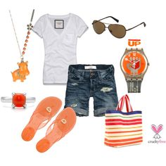 Orange & Red, created by pbmhuck.polyvore.com