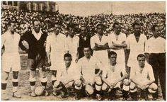 Equipos de fútbol: MADRID Campeón de Copa 1936