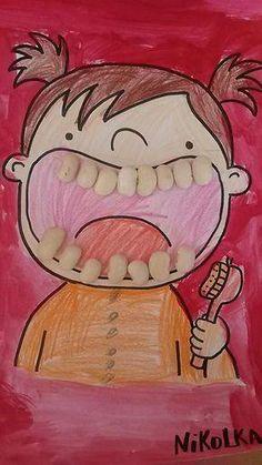 37 best dental health activities for kids images in 2019 Kids Crafts, Projects For Kids, Diy For Kids, Diy And Crafts, Art Projects, Paper Crafts, Health Activities, Preschool Activities, Preschool Education
