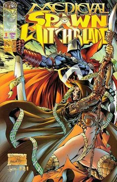 SPAWN/WITCHBLADE #1-#3, May-July 1996 - W.B.