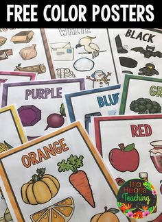 Grab these FREE posters for your elementary classroom! Grab these FREE posters for your elementary classroom! Preschool Decor, Preschool Colors, Free Preschool, Preschool Activities, Preschool Shapes, Toddler Classroom, Classroom Games, Classroom Posters, Education Posters