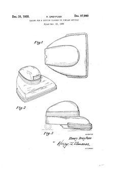 Hoover model 150 design by Henry Dreyfuss