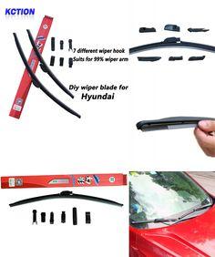 Front Windshield Premium All Season Wiper Blades Set for INFINITI I30 2000-2002