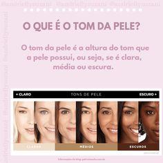 Ontem eu comecei as minhas publicações sobre como acertar no tom da base e falei sobre tom e subtom de pele. Como surgiram muitas dúvidas #tom #subtom #dicademaquiagem #dicasdemaquiagem Love Makeup, Makeup Tips, Beauty Makeup, Face Care, Skin Care, Mary Kay Ash, Makeup Academy, Make Beauty, Makeup Studio