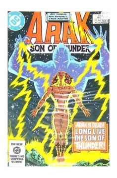 Arak Son of Thunder Comic Book Issue #33 May 1984 DC Great Condition W/Sleeve