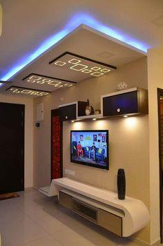 LCD PANEL DESIGN COLLECTION 1 - lsdunia Lcd Unit Design, Lcd Panel Design, Wall Unit Designs, Living Room Tv Unit Designs, Ceiling Design Living Room, Tv Wall Design, False Ceiling Design, House Design, Modern Tv Room