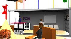 FCSI Pavilion Education Box designed by LU Schildmeyer
