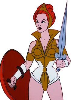 Cartoon Tv, Cartoon Shows, Cartoon Characters, Thundercats, Teela He Man, He Man Desenho, Hee Man, Female Armor, The Last Unicorn