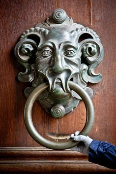 #joingermantradition  I love this huge door knocker  in Bamberg Germany it is amazing. #InspiredBy #Germany25reunified