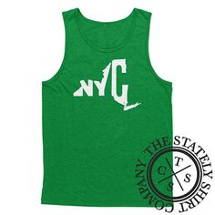 New York City New York City State Tank City Tank Top Shirt Unisex Tank Summer Tank Beach Tank Bro Tank State Tank Top Home Tank by TheStatelyShirtCo