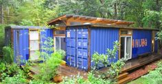12 Homes Made From Shipping Containers - Design Milk 12 Homes Made From Shipping Shipping container architecture - Wikipedia, the free e. Container Home Designs, Building A Container Home, Container Cabin, Cargo Container, Casas Containers, Storage Containers, Shipping Container Homes, Shipping Containers, Container Architecture