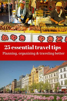 25 essential travel tips to help you with your planning, logistics organizing and making the travel process smooth and impactful. These tips can help with before and during your trip to highlight important factors and suggestions in making your travel effortless. http://travelphotodiscovery.com/25-travel-tips-and-how-to-travel-smarter/