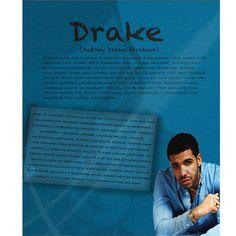 Drake bio for my Summer Jam XXL magazine.