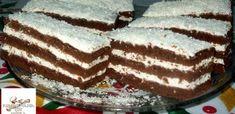 kremes Hungarian Recipes, Hungarian Food, Coco, Sweet Recipes, Tiramisu, Fondant, Food And Drink, Sweets, Baking
