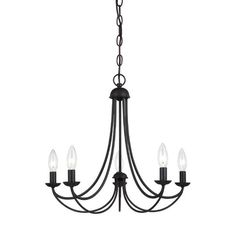 Buckland Candle-Style Chandelier