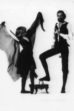 Stevie Nicks + Mick Fleetwood