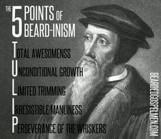 Beard and tattoos :)