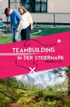 Teambuilding von Teamazing in der grünen Steiermark lockt mit vielen tollen Locations für dein Teamevent oder Seminar und begeistert mit dem TOP-innovativen Erlebnisbuilding deine Mitarbeiter. Die weltoffene Kultur in der Steiermark wird durch die steirische Tradition, wie zum Beispiel den steirischen Weinstraßen oder aber auch durch Aktion pur beim Projekt Spielberg abgerundet. Die Steiermark bietet mit all seinen Facetten die perfekten Voraussetzungen für ein unvergessliches Erlebnis.