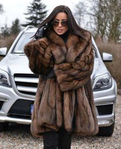Nadire Atas on Luxurious Fur Fashion Leather Gloves, Leather Jacket, Fur Coat Outfit, Fur Fashion, Womens Fashion, Sable Fur Coat, Fabulous Furs, Fur Jacket, Autumn Winter Fashion