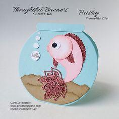 Hello - Paisley Framelits Fish