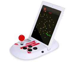 While arcades are a thing of the past, games like Asteroids and Centipede are still fun to play. Classic games have made a strong comeback thanks to handheld devices like the iPad. Of course, playing old arcade games on a touch screen just isn't the same as it was with joystick. But before you go looking for an old Missile Command arcade machine on eBay, you might want to try out the latest accessory from Atari. The Atari Arcade Duo Powered Joystick turns your iPad into a mini arcade…