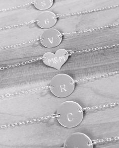 Bridesmaids  #bridesmaid #bridesmaidgift #bridestobe #bridalfashion #heart #initial #name #love #family #friends #goldfill #goldfilled #necklace #bracelet #personalised #personalisedgift #handmade #sterlingsilver #jewellery #pheebsandbeau #bridesmaidgift #weddingideas #wedding #fashion #style #celebrity  #halsteadmakers #instaphoto #instapic #instajewellery by pheebsbeau