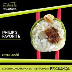 PHILIP'S FAVORITE. Exquisito rollo de atun con chipotle y jicama en bastones, cubierto con aguacate y ajonjolí.