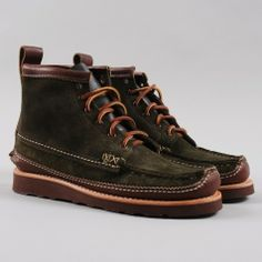 Maine Guide DB Boot - Olive by Yuketen