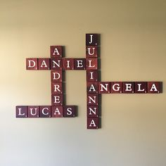 Now, I am not the handy-mom-blogger, but I can get some things done and I am very happy with how this latest home decor turned out. I absolutely love Scrabble and Wordles and all those fun things, ...