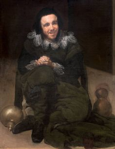 « The Court Jester Juan de Calabazas (Calabacillas)« , 1637 – 1639 © Museo Nacional del Prado, Madrid