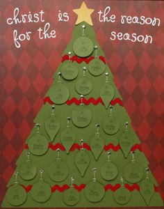 """CHRISTmas Tree"" - Advent Calendar 
