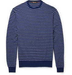 Loro PianaStriped Cashmere Sweater