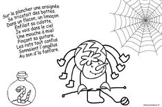 coloriages comptines