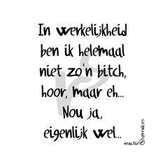 Bitch © Heidi, Reactie Spreukjes #humor #quote #tekst
