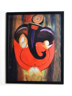 Aakriti Digital Painting pictures ganpati-1533