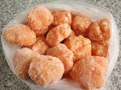 Receitas de Dieta: Almôndegas de Frango e Cenoura
