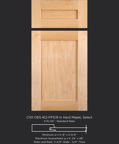 TaylorCraft Cabinet Door Company is a wholesale supplier of custom, unfinished wood cabinet doors and drawer fronts. Browse our cabinet door styles. Shaker Style Cabinet Doors, Wood Cabinet Doors, Custom Cabinet Doors, Cabinet Door Styles, Custom Cabinets, Maple Kitchen Cabinets, Farmhouse Cabinets, Oak Cabinets, Butcher Block Countertops