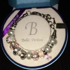 Bella Perlina European Beads Breast Cancer Awareness Pandora $53