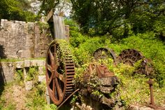 OLD WATER MILL | Luxulyan Valley, Cornwall     ✫ღ⊰n