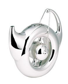 """Arno"" Sterling Silver Teapot, by Raju Peddada"